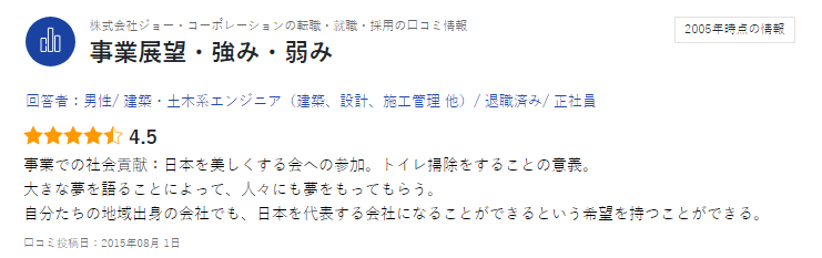 ジョーコーポレーション(東京)が就活生におすすめの理由とは?